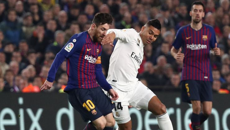 Hasil Pertandingan Barcelona Vs Real Madrid skor 1-1