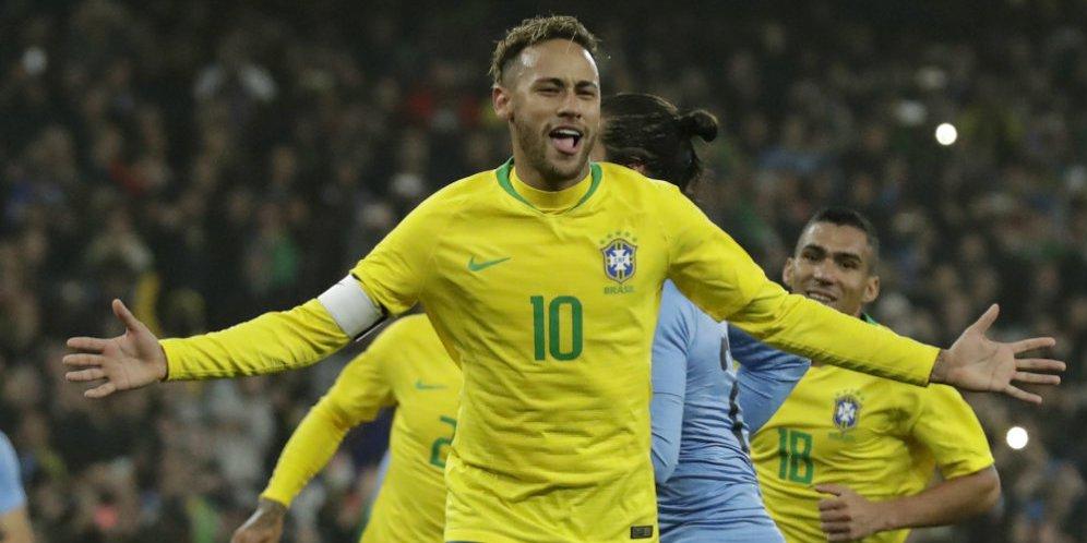 Neymar: Saya Masih Belum Sehebat Seorang Pele