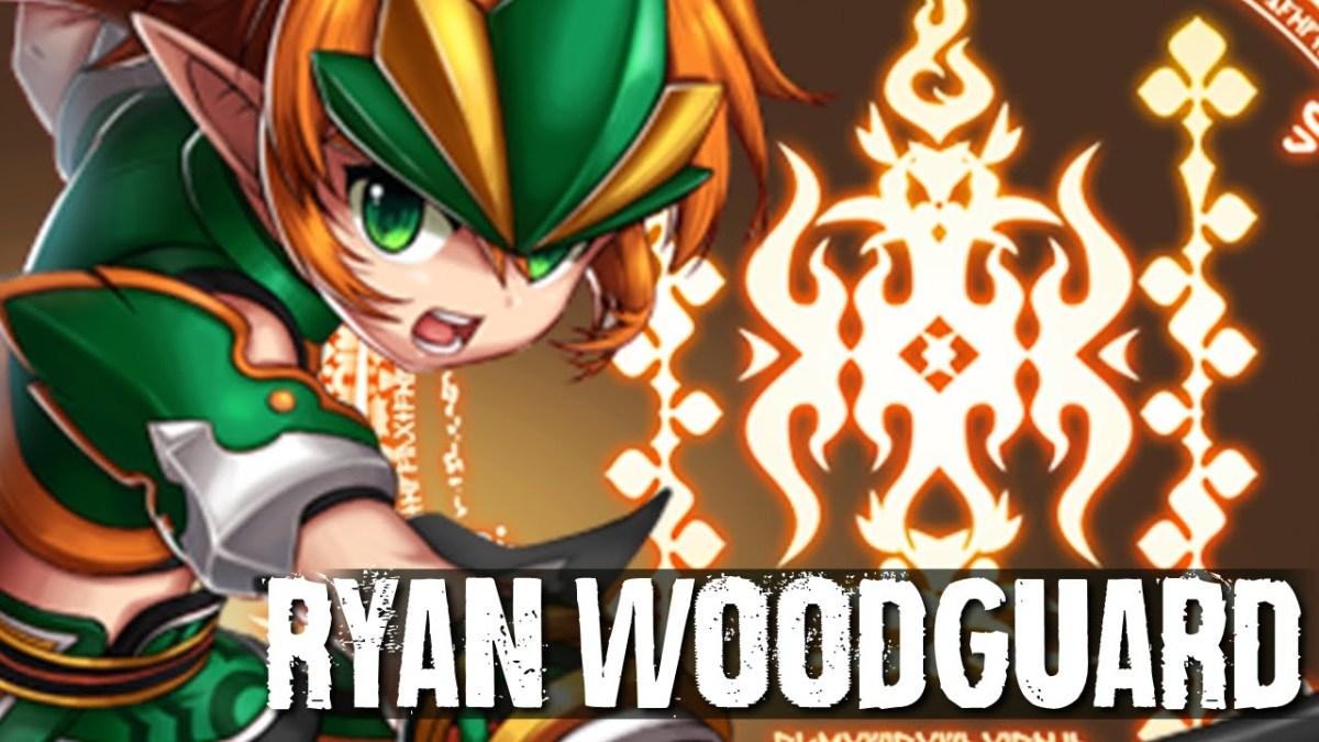 Ryan Sang Penjaga Hutan Dalam Game Grandchase