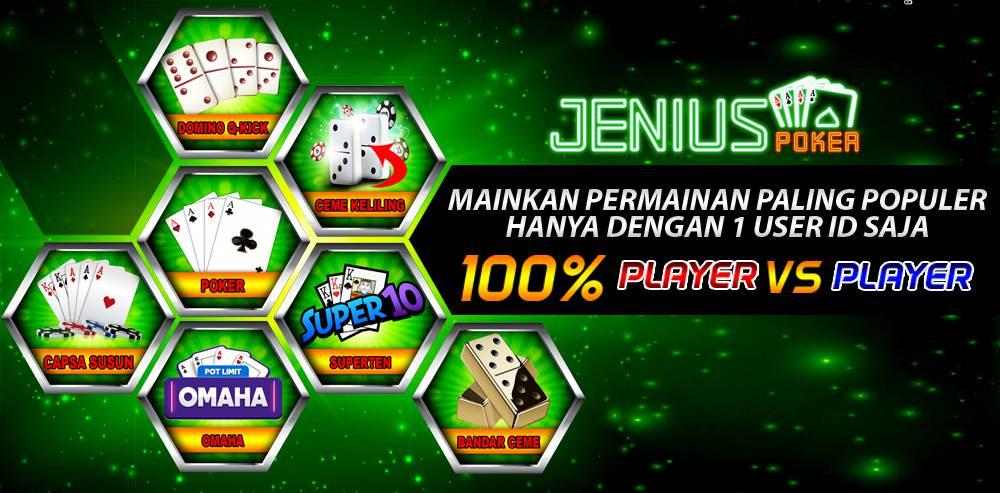 Strategi dan Tips Menang Poker Online Ala Bandar Idn poker JeniusPoker
