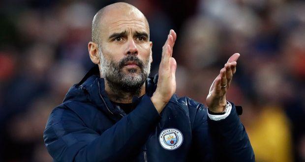 Guardiola Memuji kinerja Anak Asuhnya
