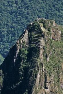 Вид с Machu Picchu Mountain на Wayna Picchu.