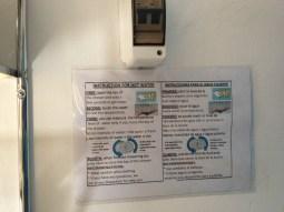Инструкция пользования душем в мотеле в Наска