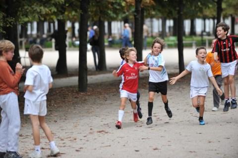 Детский футбол не Елисейских Полях