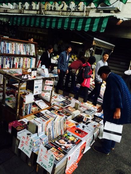 Книжная лавка на рынке