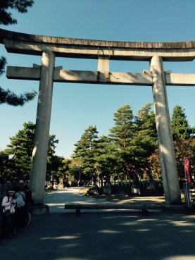 каменные ворота Синто
