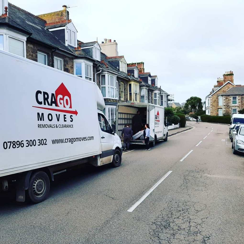 Crago Moves Vans in local removals in Penzance