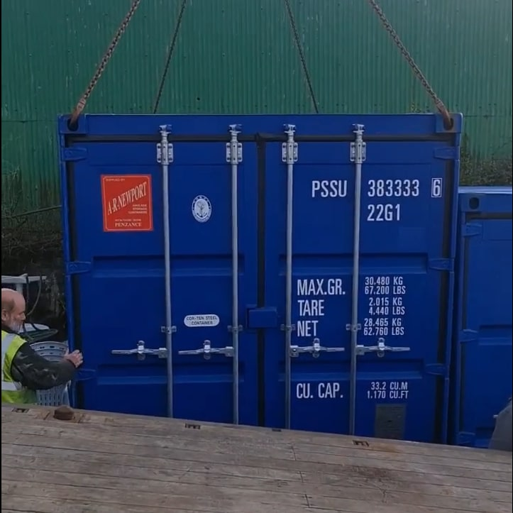 container cornwall