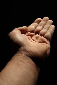 ruka ispružena