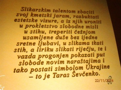 Citat T.Ševčenka