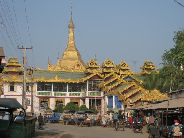 vue du temple