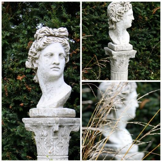 Garden Statue Collage