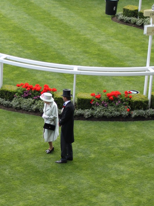 The Queen - Ascot