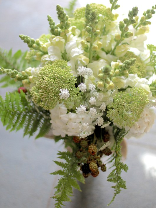 Green & White Summer Bouquet