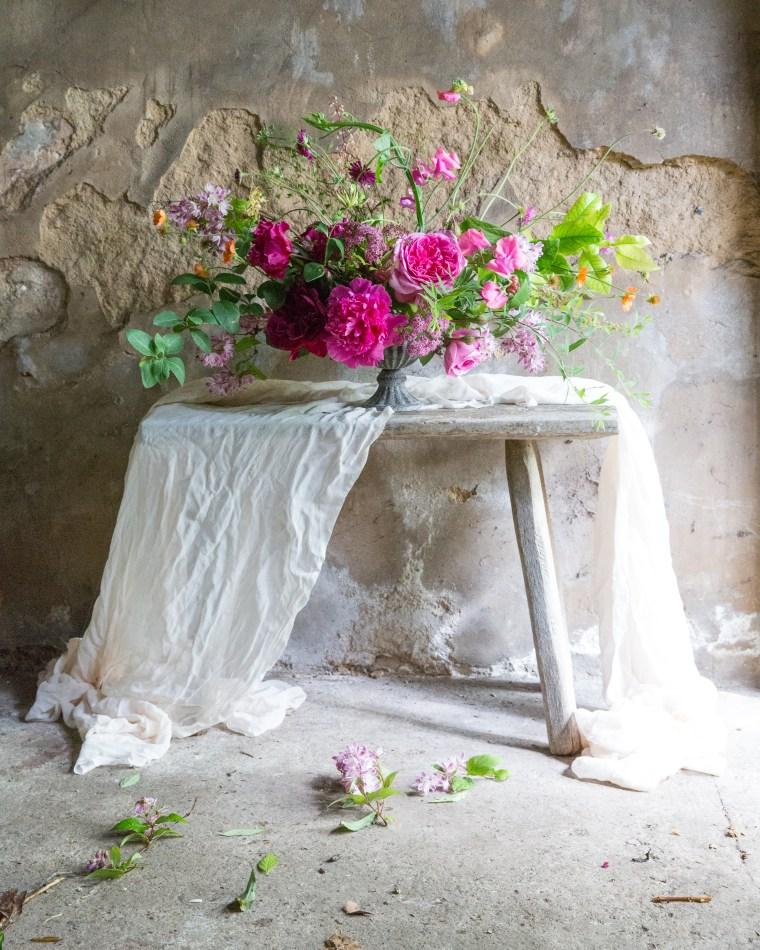 A summer floral workshop