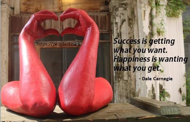 8 Success is... Dale Carnegie