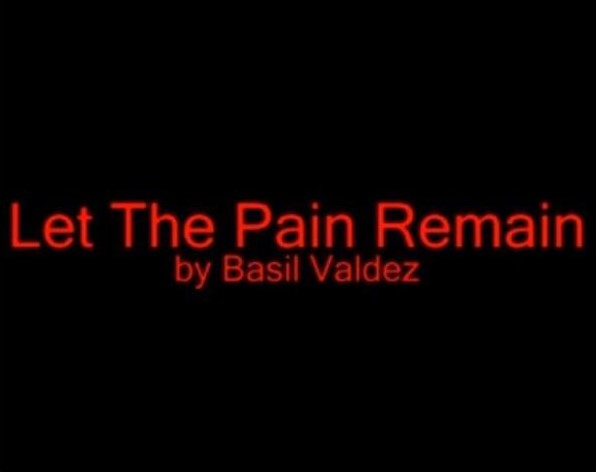 Let The Pain Remain Lyrics