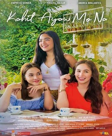 Kahit Ayaw Mo Na Movie Poster