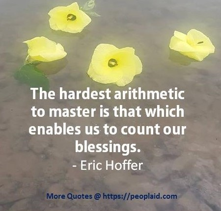 Eric Hoffer Quotes