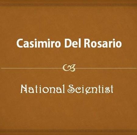 Casimiro Del Rosario