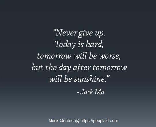 Jack Ma Quotes for Today September 10