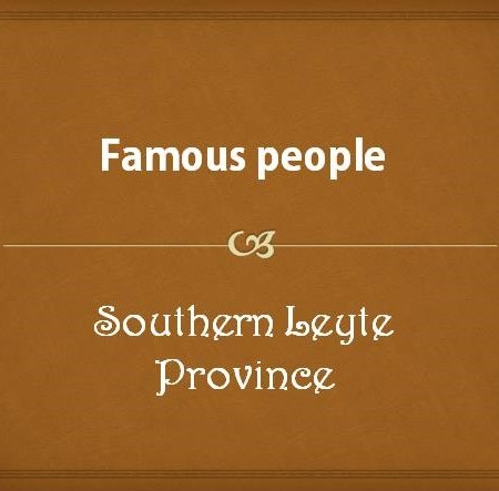 Famous people from Southern Leyte