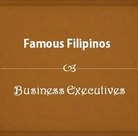 Filipino Business Executives