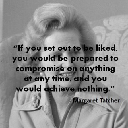 Margaret Tatcher Quotes
