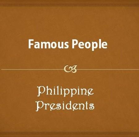 List of Philippine Presidents