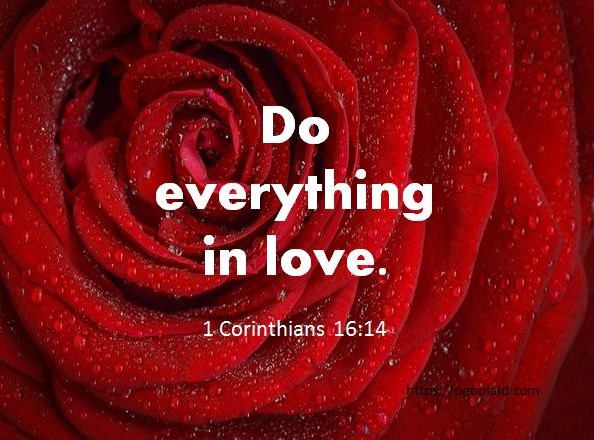Bible Verse for Today February 14