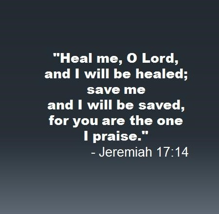 A powerful prayer for healing