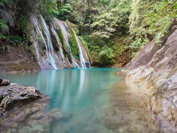 Daranak Falls in Tanay Rizal