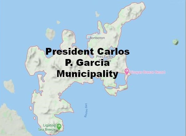 President Garcia Municipality Map