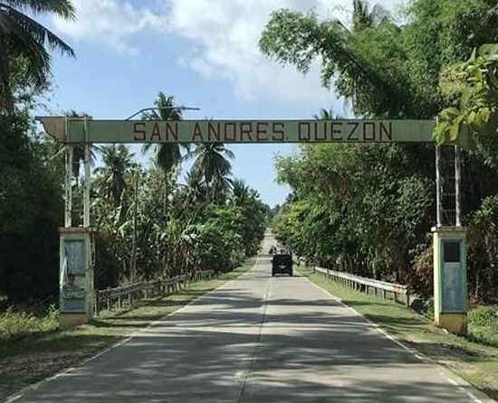 San Andres Quezon Welcome Arch