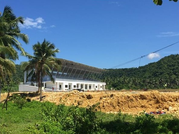 Sports Complex in Dapa Surigao Del Norte