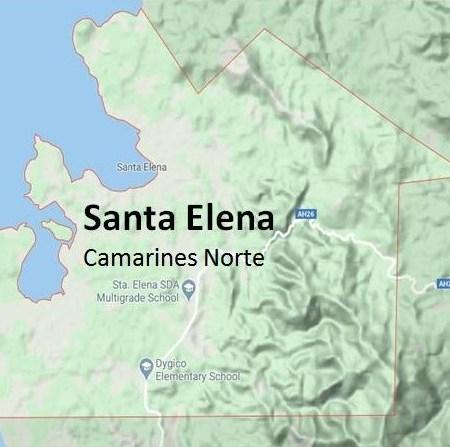 Santa Elena Camarines Norte Map