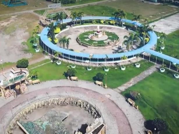 Magsaysay Town Plaza in Occidental Mindoro