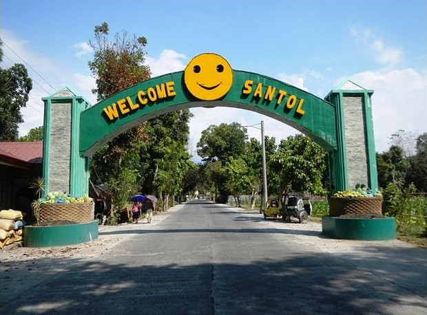 Welcome Arch of Santol La Uinon