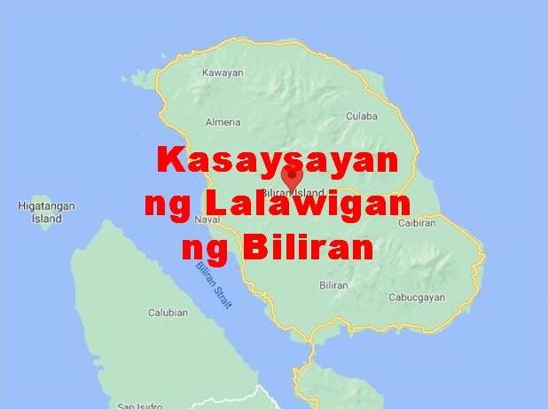 Biliran Province History in Tagalog