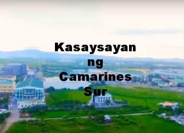 Camarines Sur History in Tagalog
