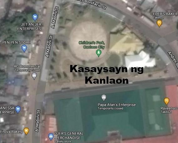 Canlaon City History in Tagalog