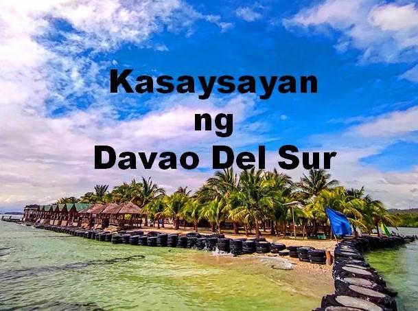 Davao Del Sur History in Tagalog