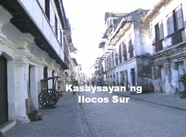 Ilocos Sur History Tagalog