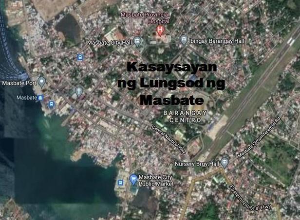 Masbate City History in Tagalog