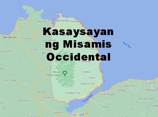 Misamis Occidental History in Tagalog