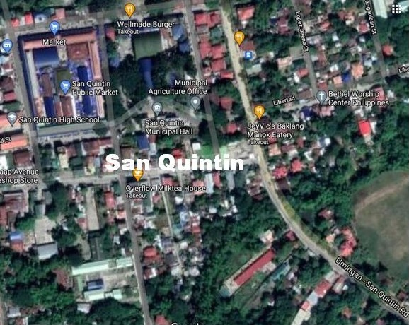 San Quintin Pangasinan