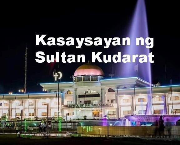 Sultan Kudarat History in Tagalog