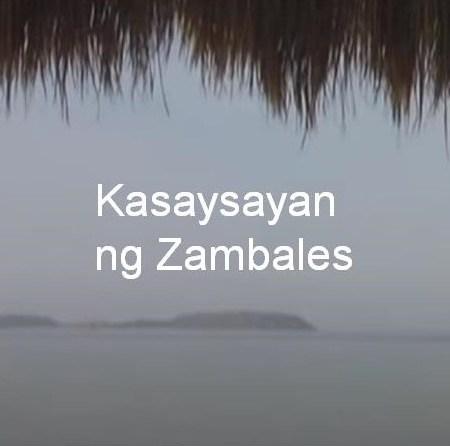 Zambales History Tagalog