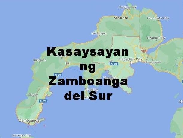 Zamboanga Del Sur History in Tagalog