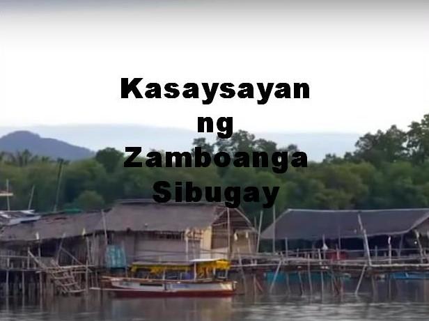 Zamboanga Sibugay History in Tagalog